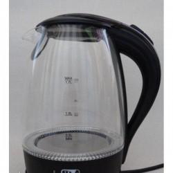 Чайник электрический PROMOTEC PM-810 стеклянный чёрный