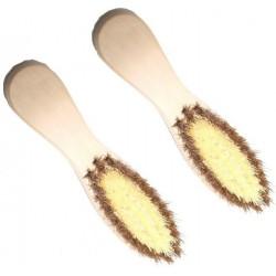 Щётка №YS-T51 дер. для пола с пластм. волос (28*6) (120)