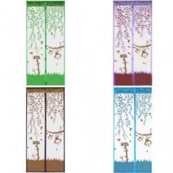 Штора для мух №1021Н полиэстер с рисунками (1*2,1)м в клеёнке (120)