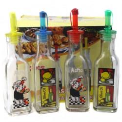 Дозатор №MY1-12KC бутылка для уксуса стекл. 190мл (96)