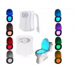 подсветка для унитаза Lightbowl LED с датчиком движения 8 цветов
