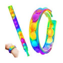браслеты поп ит цветные