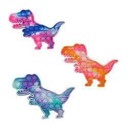 Сенсорная игрушка Pop It антистресс, динозавр