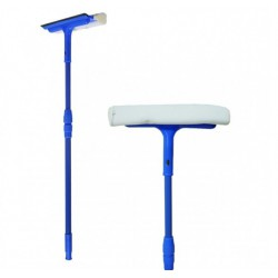А -332 Щетка для мытья окон.Губка обтянута сеткой, ручка металлическая крашеная.