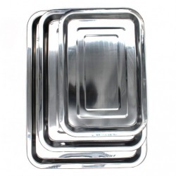 A630 Разнос №32 метал. прямоуг. (32*22*2)см (90)