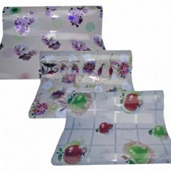 Скатерть №14 (№14-1) пластик. ПВХ Голограмма (60*100)см (150)