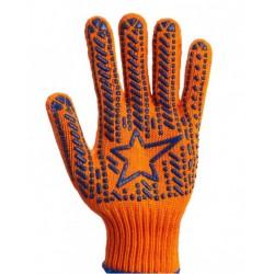 Перчатки звезда оранж. (600)
