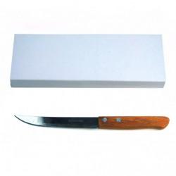 Нож №В002 фрукт. с дерев. руч. 20,5см 12шт в кор. (1200)