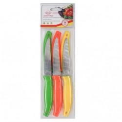 Нож №В-30-6РС фрукт. с зубами с пл. руч. 4д 6шт в пач. (144)
