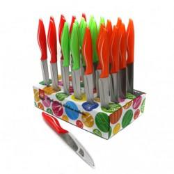 Нож №205R9 фрукт. 3цв с пл. руч. 24шт в кор. 3,5д (576)