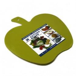 Доска №206 кухон. пл. яблоко (24*24)см 4цв (120)