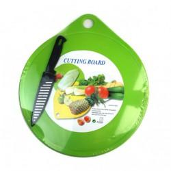Доска №8808 (G18-7) кухон. пластм. с ножом (48)
