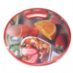 Доска №HL5276B пл. для кухни Круглая (30*30)см (36)