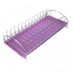 Подставка №Р-33 сушка для посуды с пл. поддоном метал. (11*17,5*42)см (40)