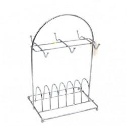Подставка №Р-34 для чайного сервиза метал. (14,5*20*29)см (60)