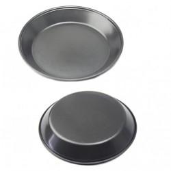 Форма №FM-10 метал. чёрнокр. цв. для кекса круг. (0,1*4,5*24,7)см в кл. (100)