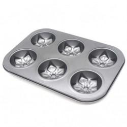 Форма №FM-27 метал. для кекса цветы (26,5*19)см (100)